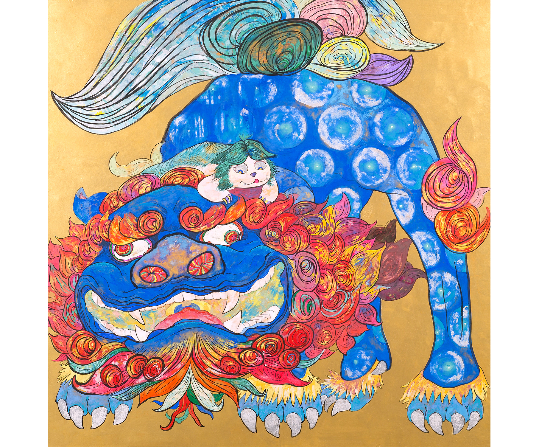Kara Shishi Zu (Image of a Lion)