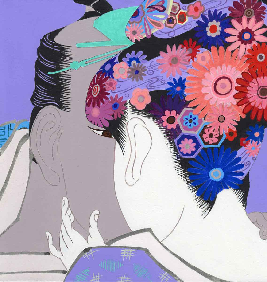 Woman of Utamaro