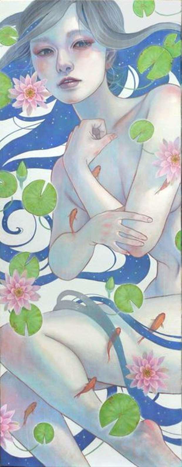 「夢と希望」82x31.8cm