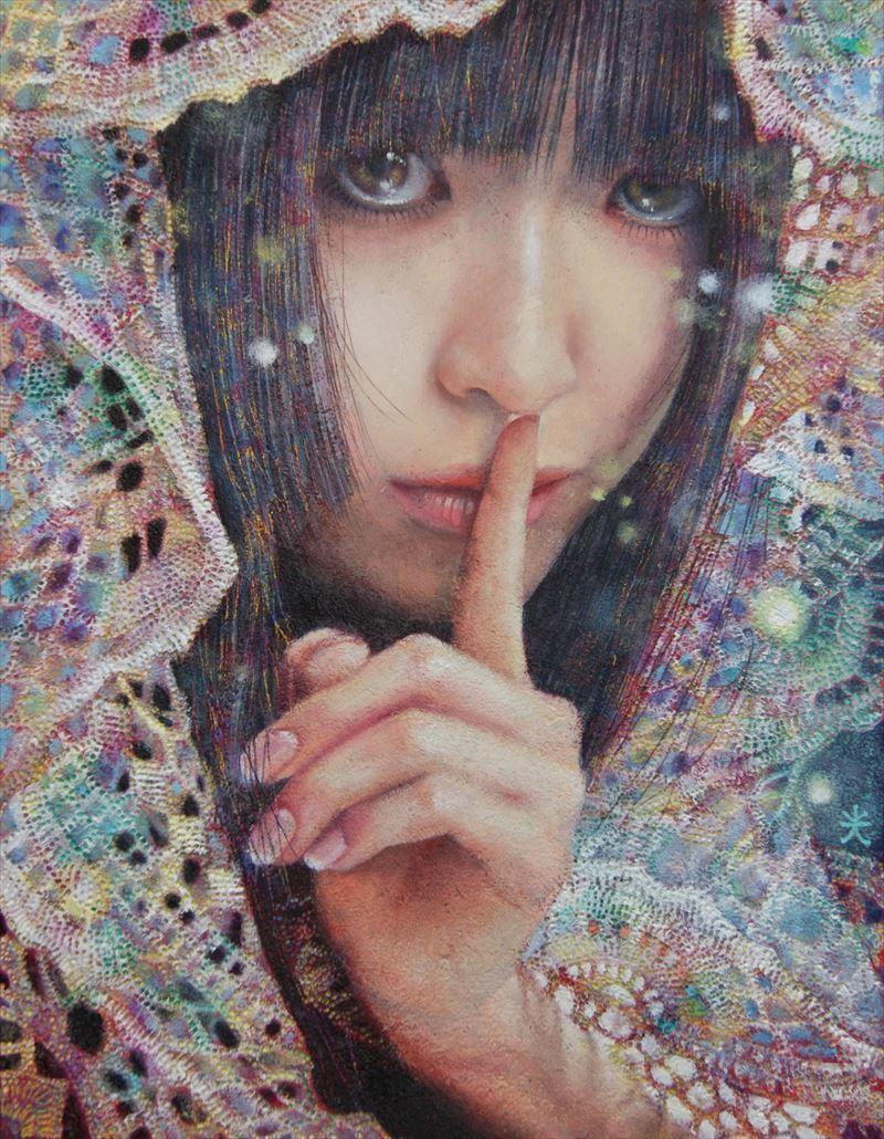 Secret / oil on canvas 41 x 31.8 cm