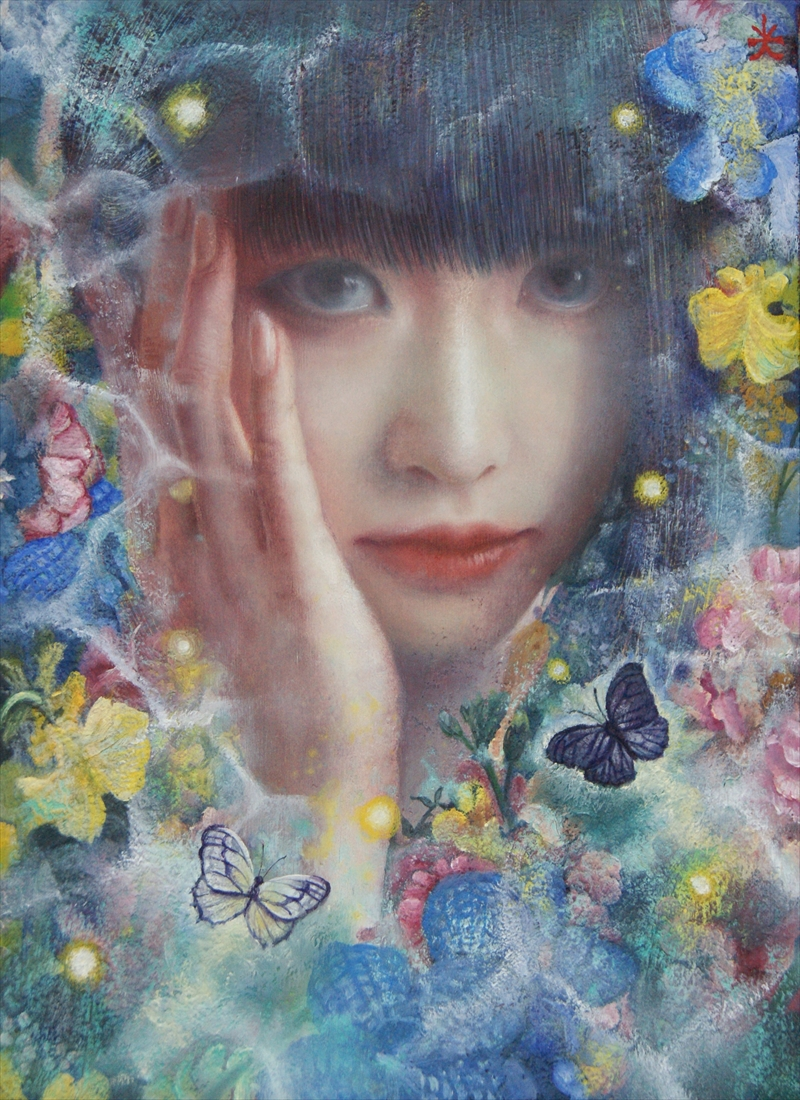 Mitsuru Ichikawa_Oil on canvas