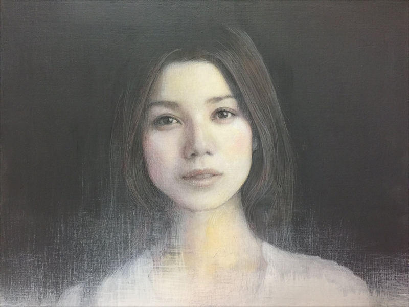 Eriko Kokawa_Oil on panel