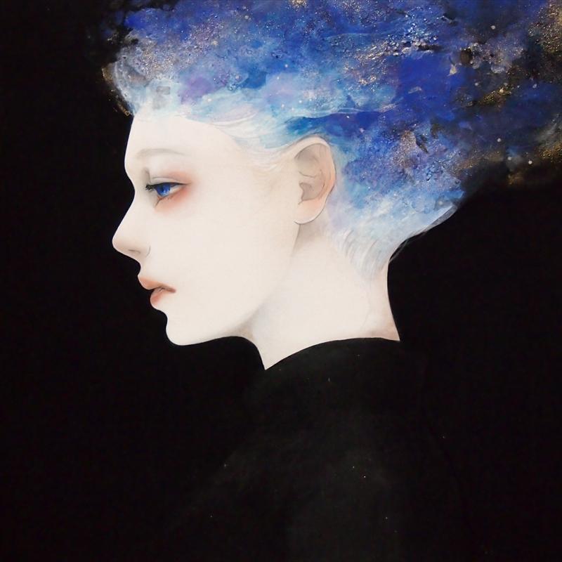 Mitsuko Kuroki_Mineral pigments on paper