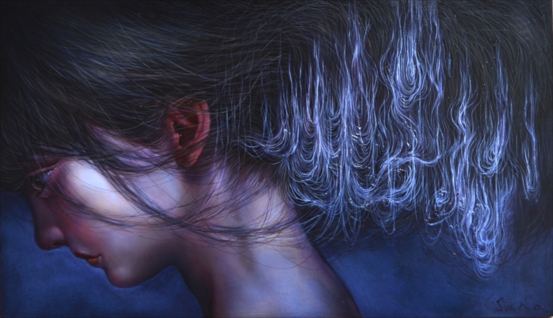 Sana Yoshida_Oil on panel