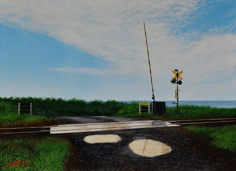 Landscape of Hokkaido _ Oil painting by Takayuki TSHUKAHARA