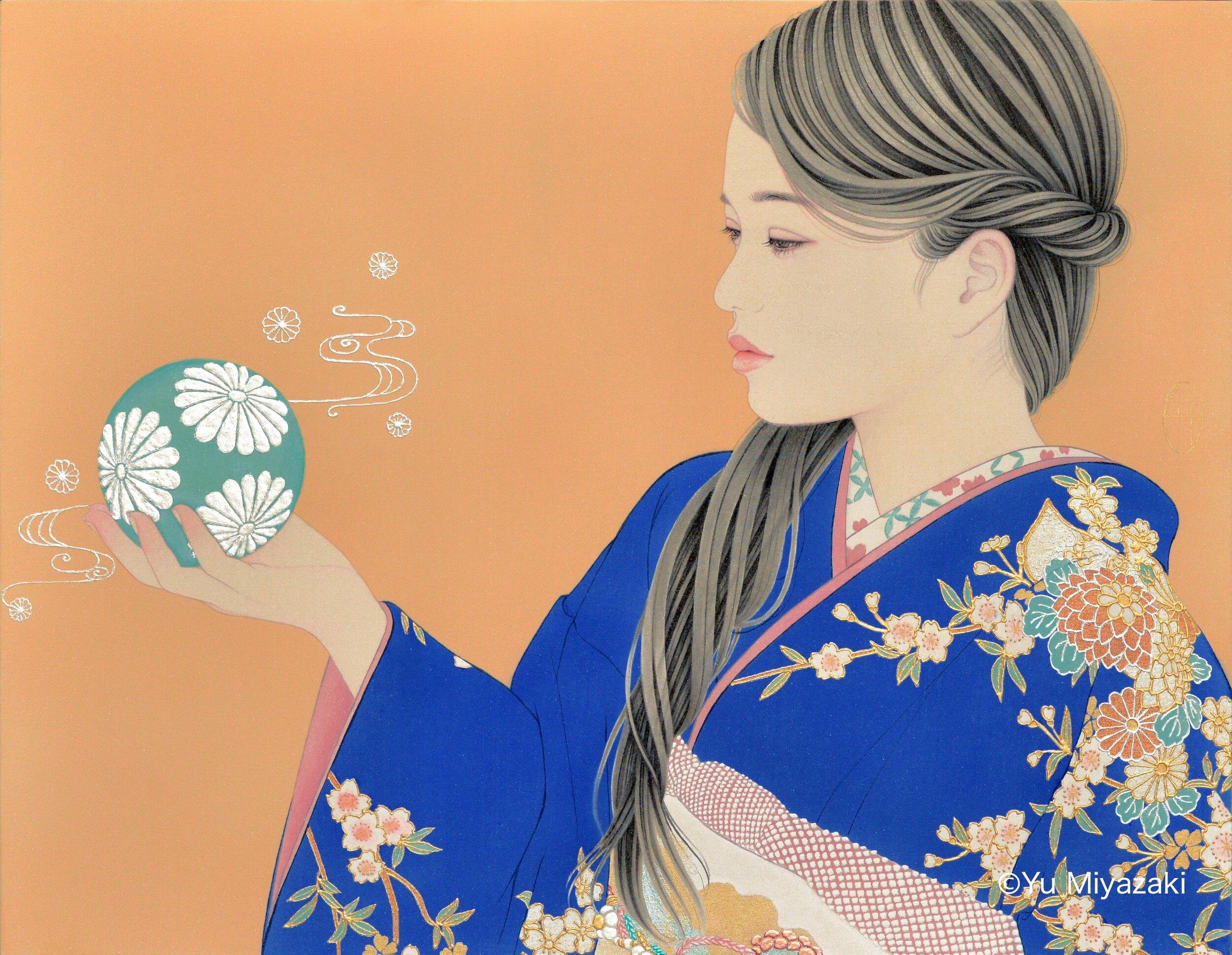 Yu Miyazaki_A temari ball.jpg