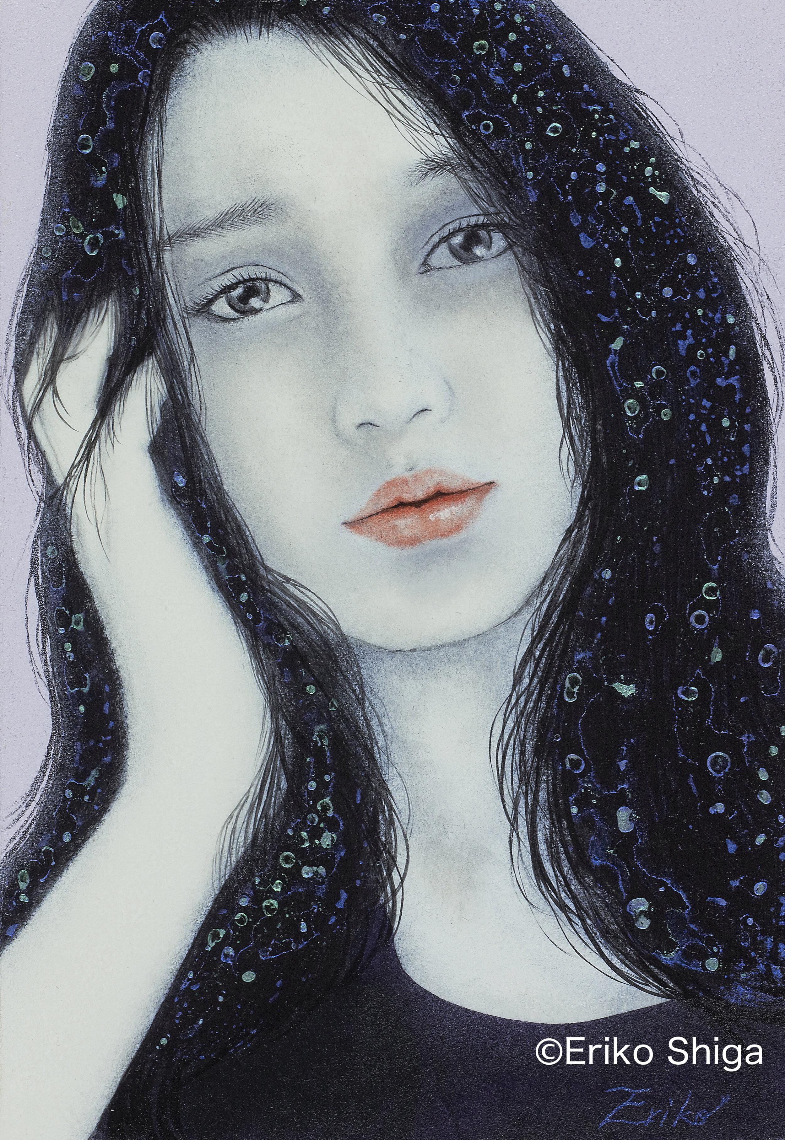 Eriko Shiga_Longing for stars.jpg