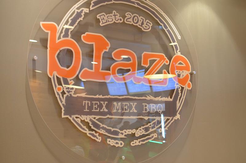 Blaze Text Mex BBQ
