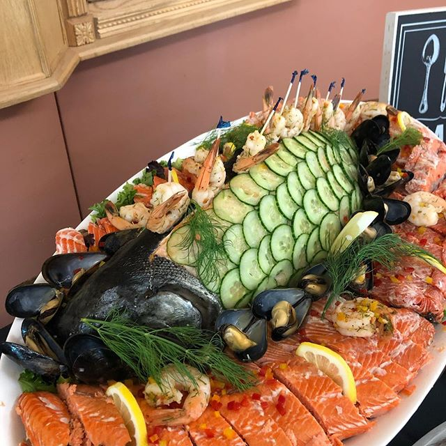 Decorated Salmon