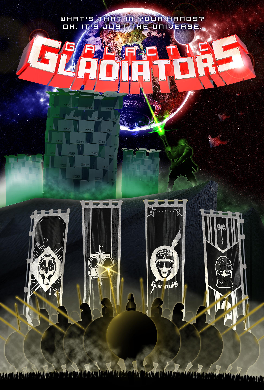 Galactic Gladiators poster final