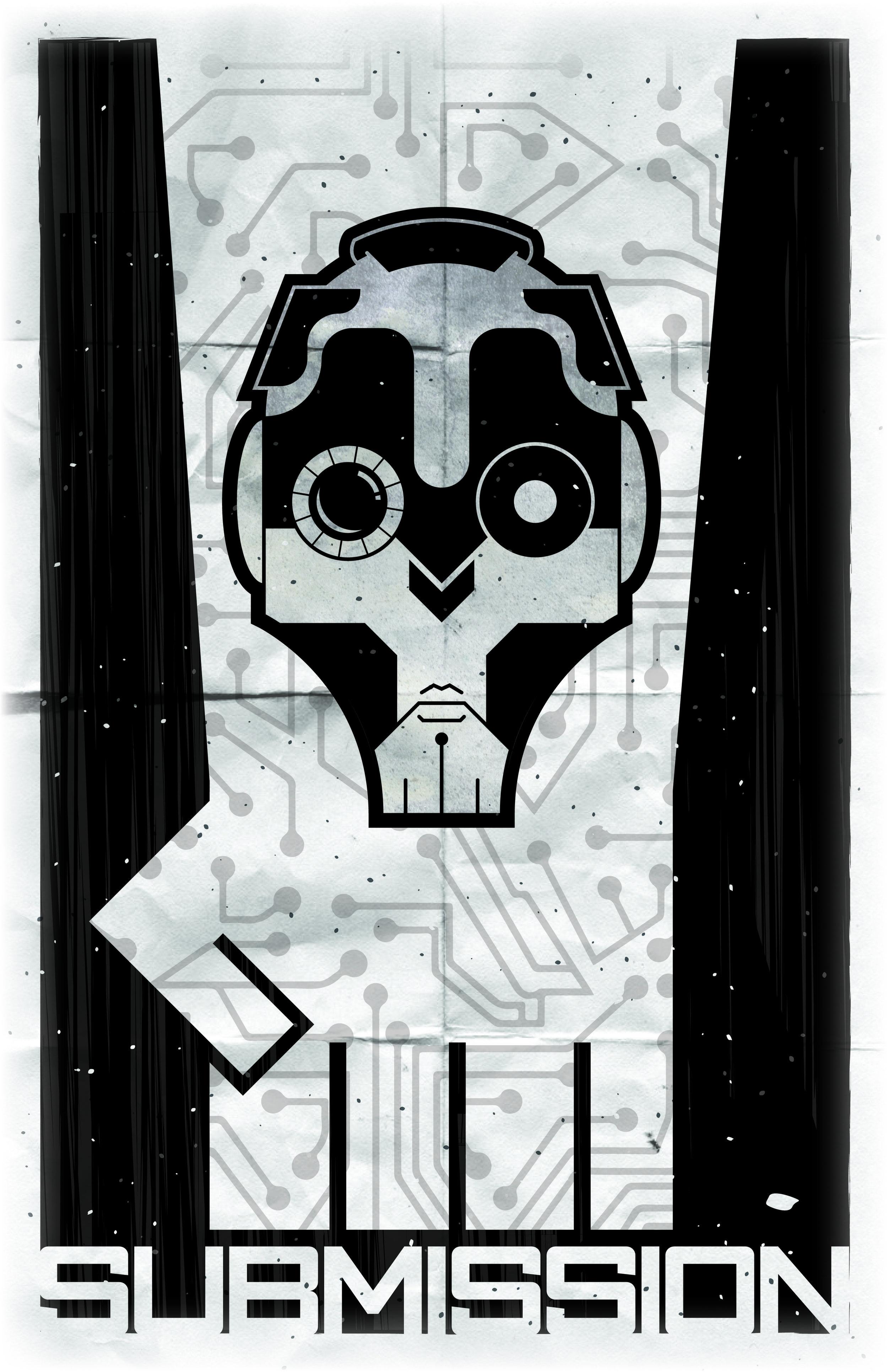 Cyborg Propaganda Poster