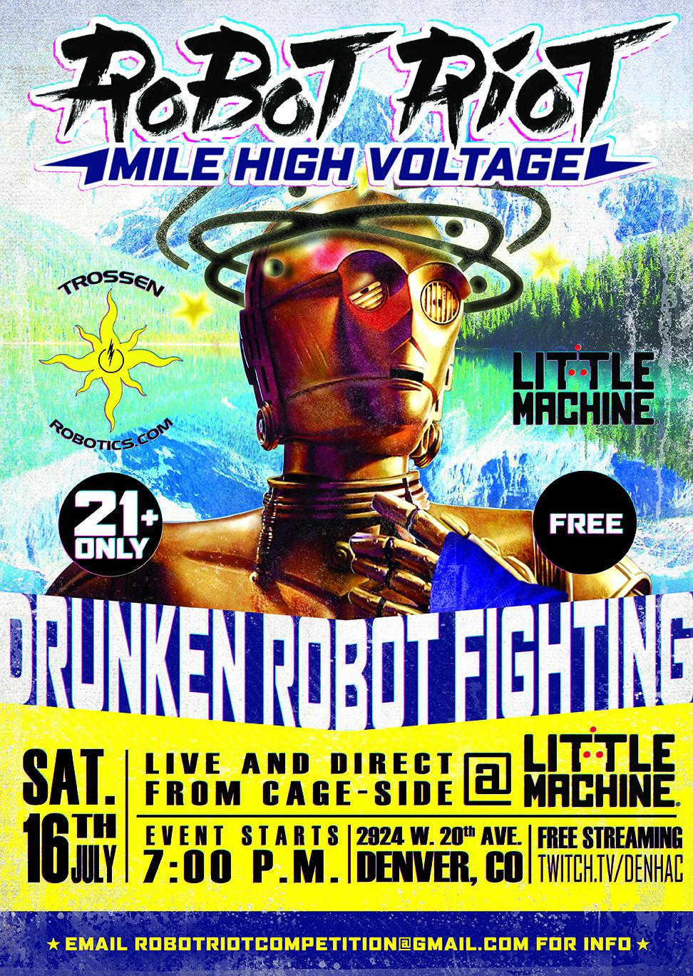 Robot Riot Poster Denver