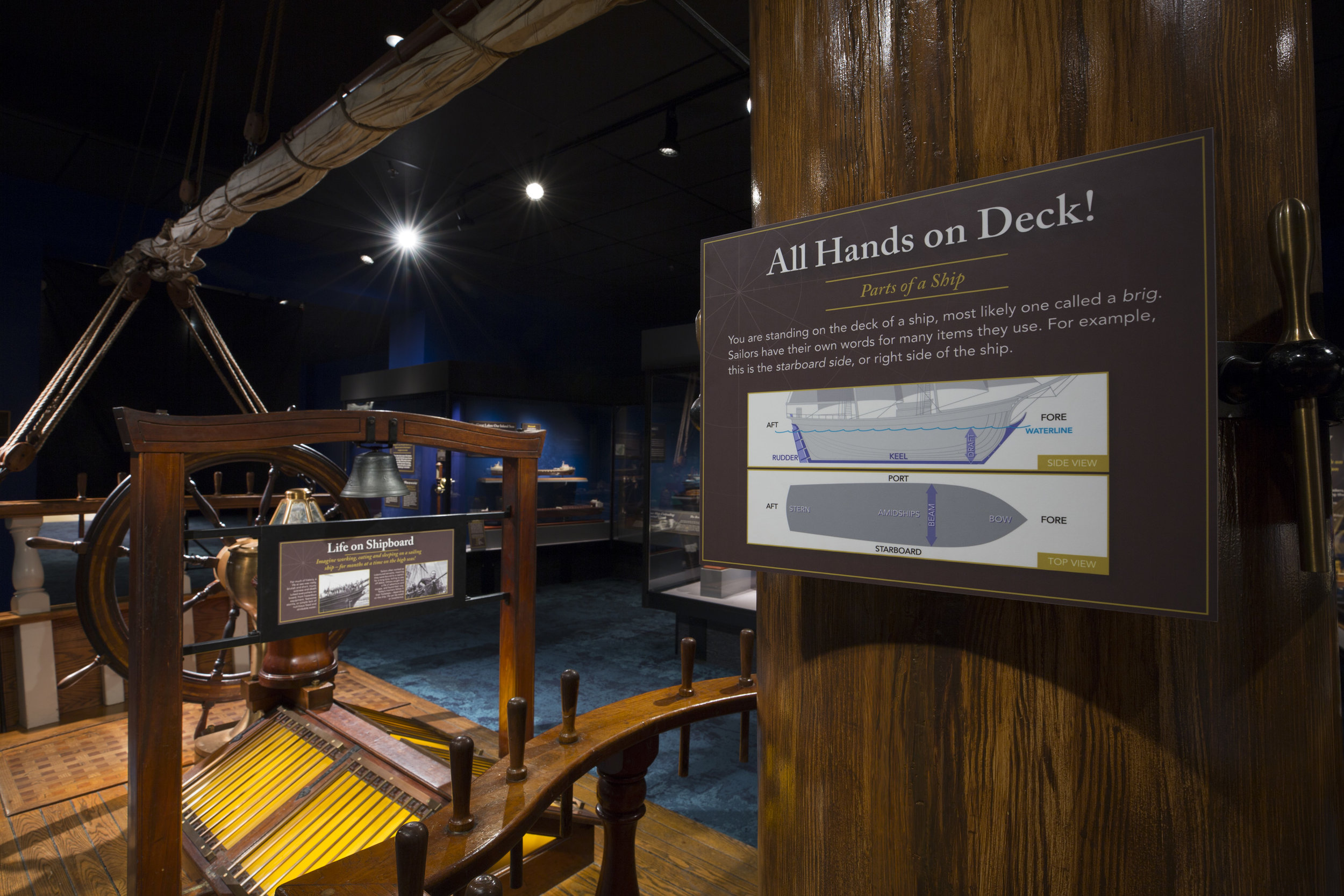 Ships Gallery - Deck Signage