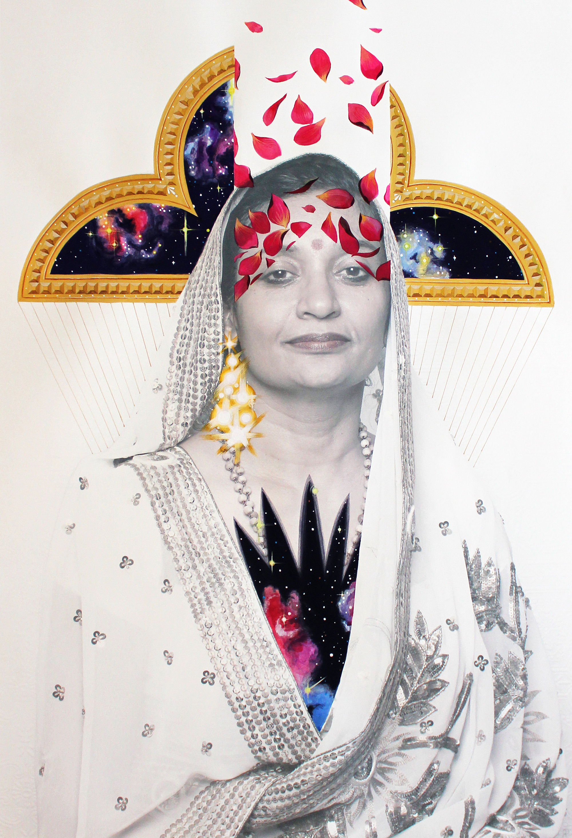 Sharmini  - mm on paper (2014)