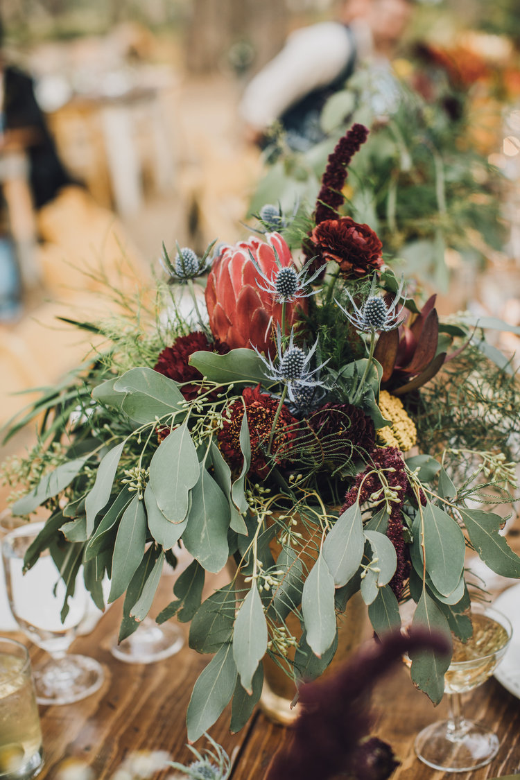 wedding table arrangement wild free bloom generation medicine flowers