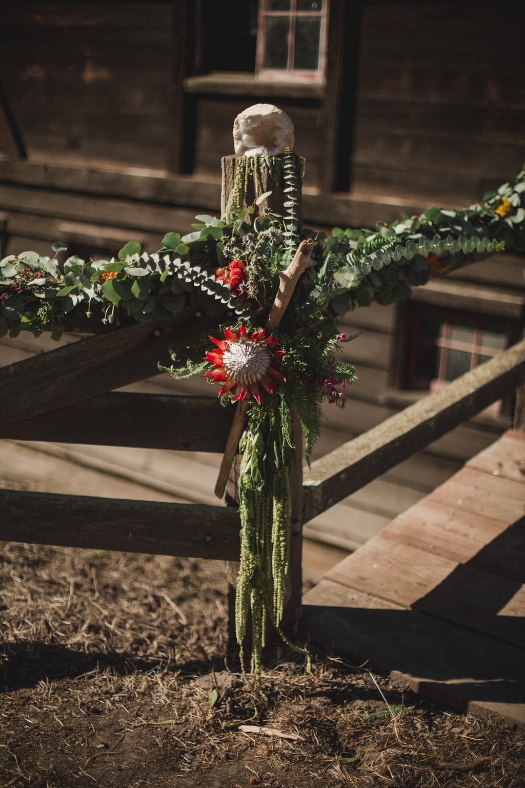 ceremony details wedding flowers oakland ca