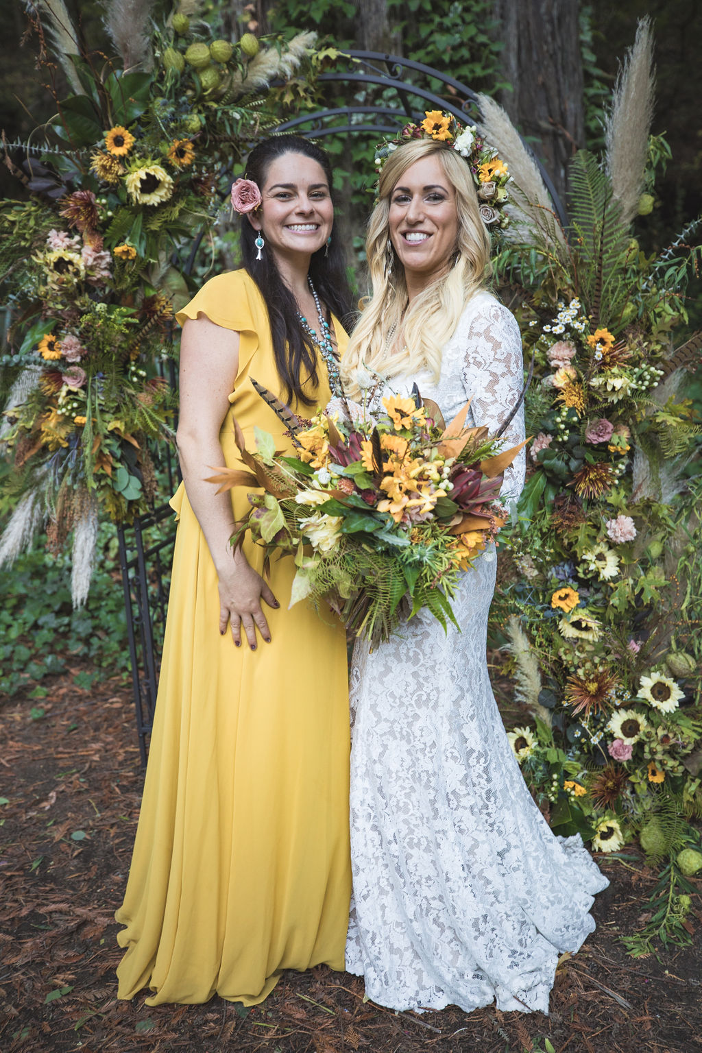 wedding altar chuppah floral design