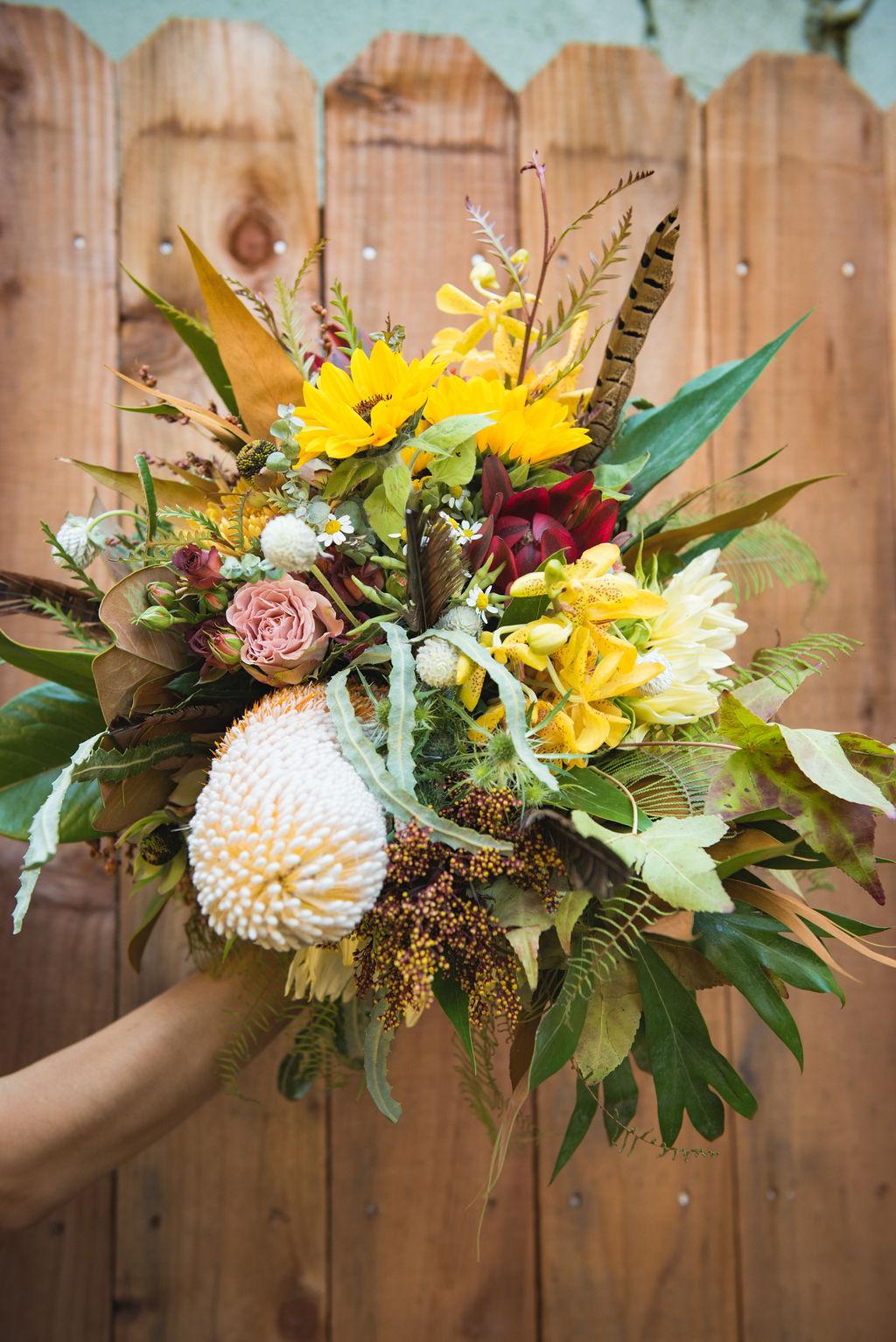 bridal bouquet russian river wedding bloom generation