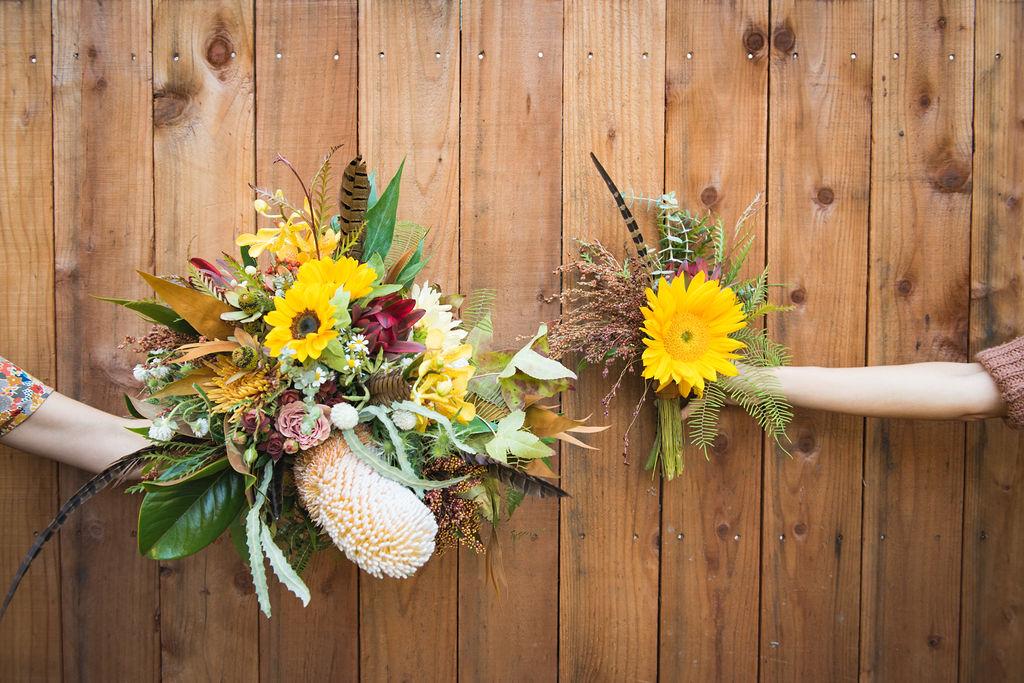 sunflower wedding bloom generation guernville