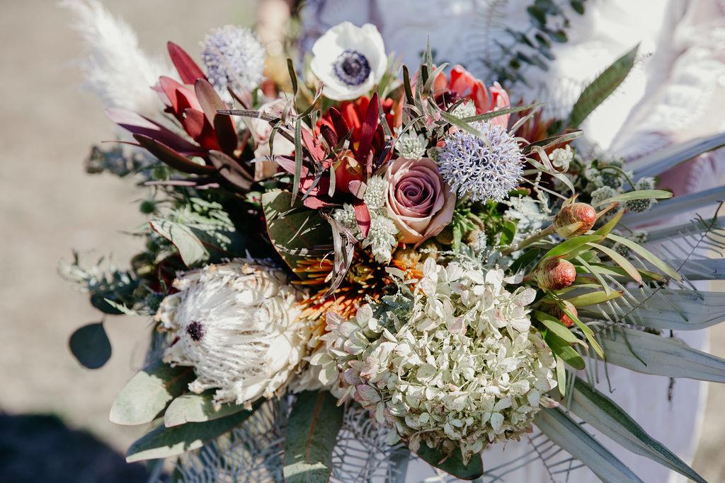 Mendocino Bridal Bouquet Bloom Generation