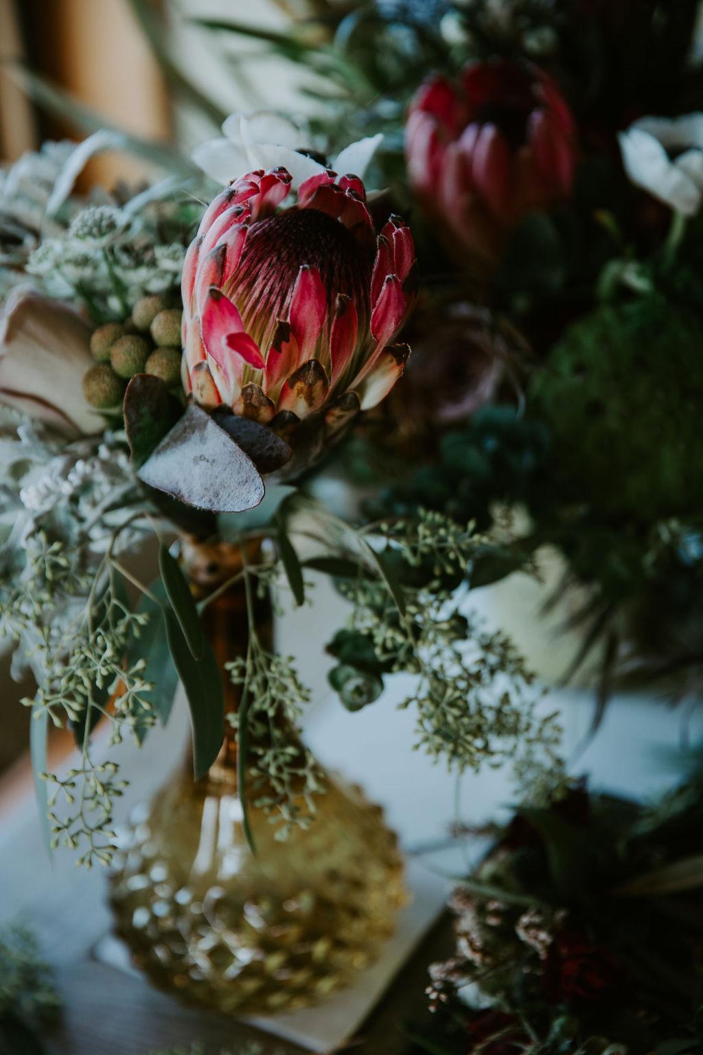 protea wedding florals san francisco bay area florist