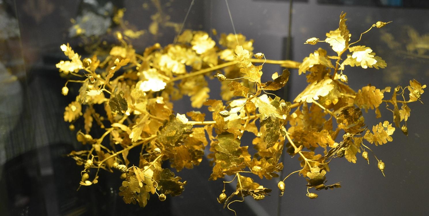 Thracian Gold Crown, Bulgaria