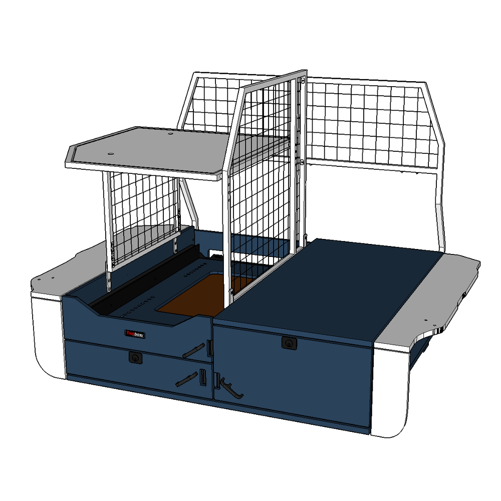 Base System shown in color