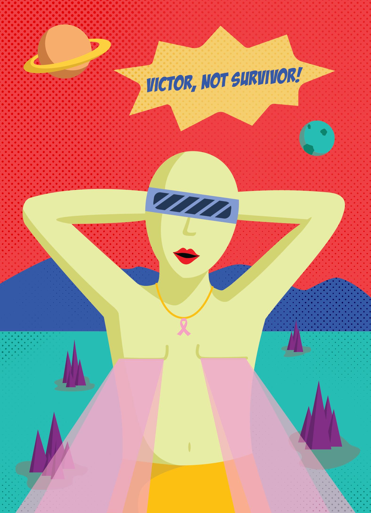 Breast Cancer Foundation Postcard