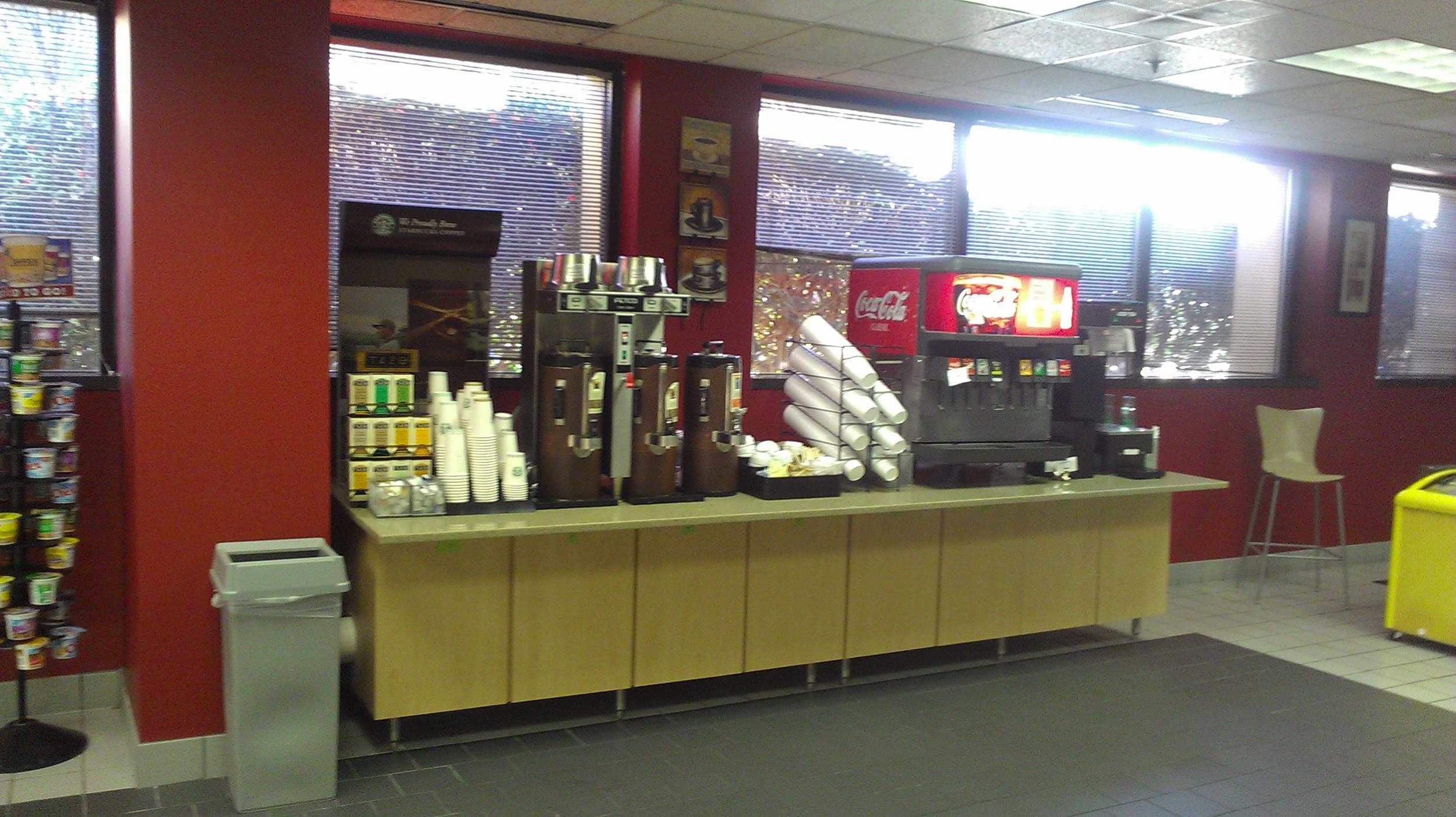 Delta Employees Breakroom