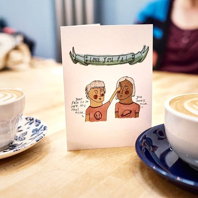 For a friend, for a lover, for your pet dog - whoever you want to say it to, say it with a card! ❤