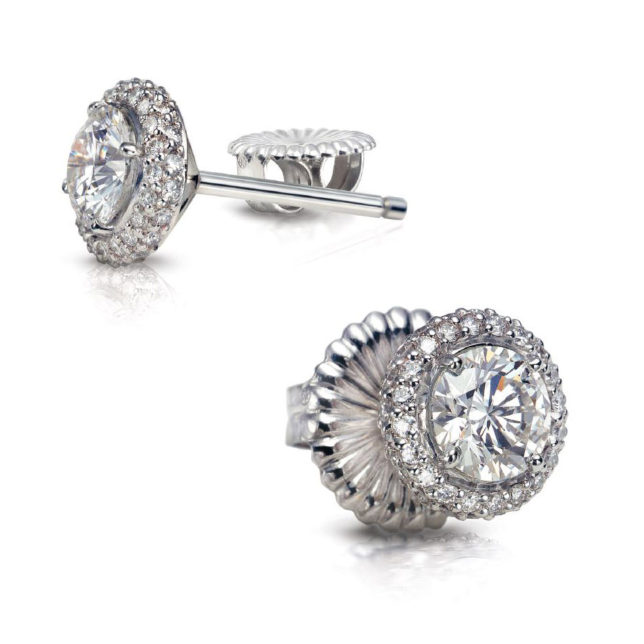 DONATA DIAMOND STUDS