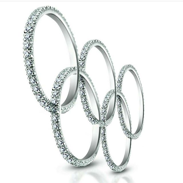 """You can't put a limit on anything. The more you DREAM the farther you get."" - Michael Phelps, most decorated olympian (23 Gold metals) . . . #srwnyc #leoncohen #makeitexquisite #theartofengagement #diamonds #olympicrings #eternitybands #unity #olympics #olympics2018 #celebration #openingceremony #winterolympics2018 #goodlucktoall #filltheworldwithlove #filltheworldwithbeauty #quoteoftheday #inspirationalquote #michaelphelps #jotd #jewelsofinstagram #couturedailydose #showyourcouture #showmeyourrings #stacksarethenewblack  #ringparty #fbf - - -  Thank you to @clarkdesign for transforming our eternity bands into this beautiful & inspirational symbol of unity!"