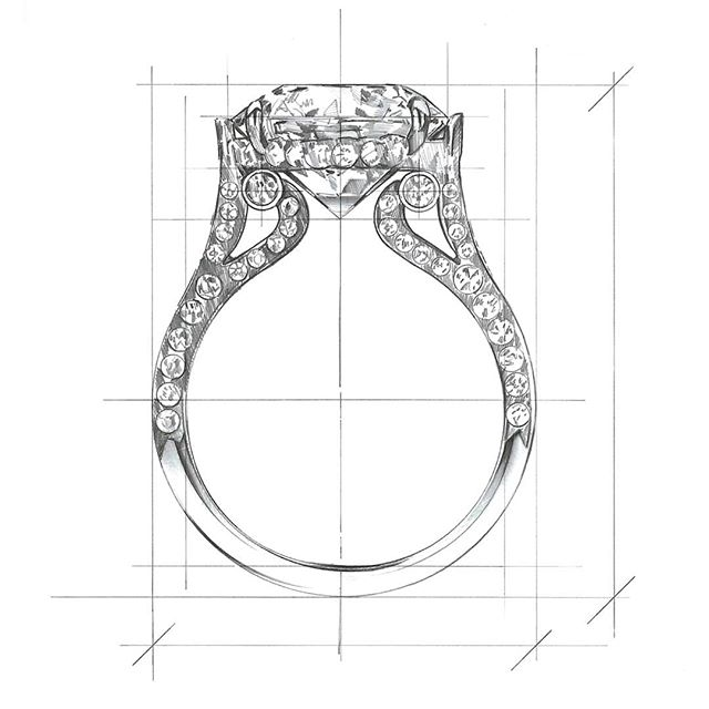 Our signature Empress Diamond Solitaire Ring in pencil by Illustrator /Product Designer Christopher Clark. @clarkdesign  We also feature his art on our website!  #srwnyc #leoncohen #makeitexquisite #theartofengagement . . . #diamonds #finejewelry #highjewelry #handcrafted #handdrawn #jewelryillustration  #engagementring  #showmeyourrings #showyourcouture #couturedailydose #jotd #jewelrylovers #jewelryaddicts #jewelsofinstagram #futureheirlooms #clarkdesign #pencildrawing #illustration #rendering #drawing #art #productdesign #commission #jewelryrendering #happyfriday #fbf