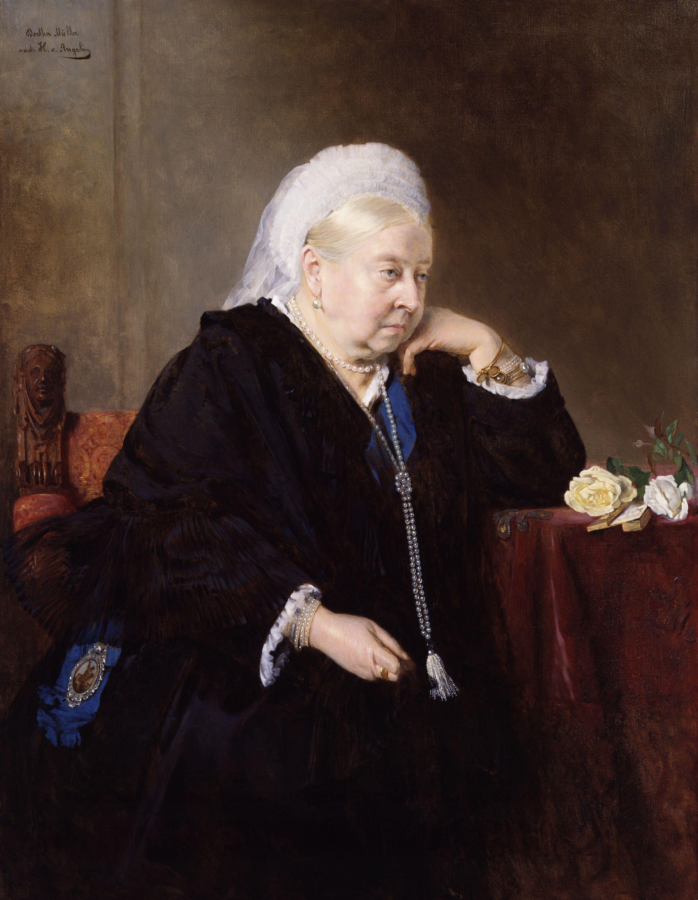 Queen Victoria by Heinrich von Angeli