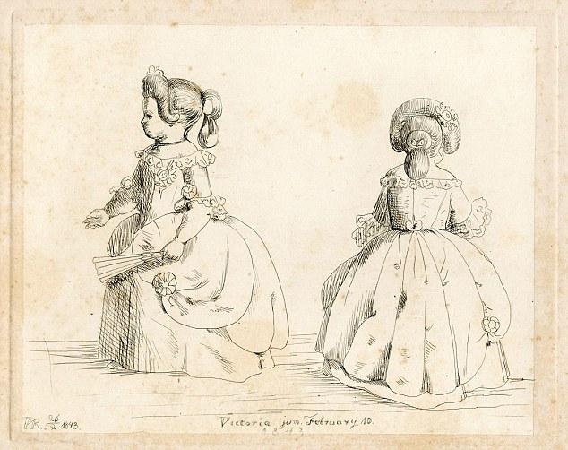 Sketch by Queen Victoria