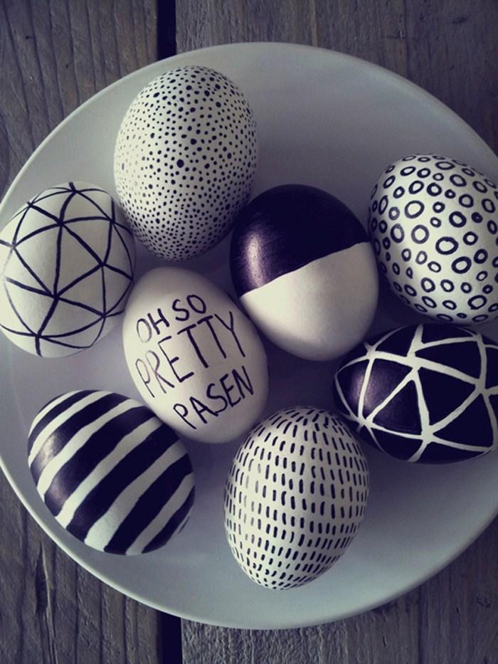 Designed Easter eggs