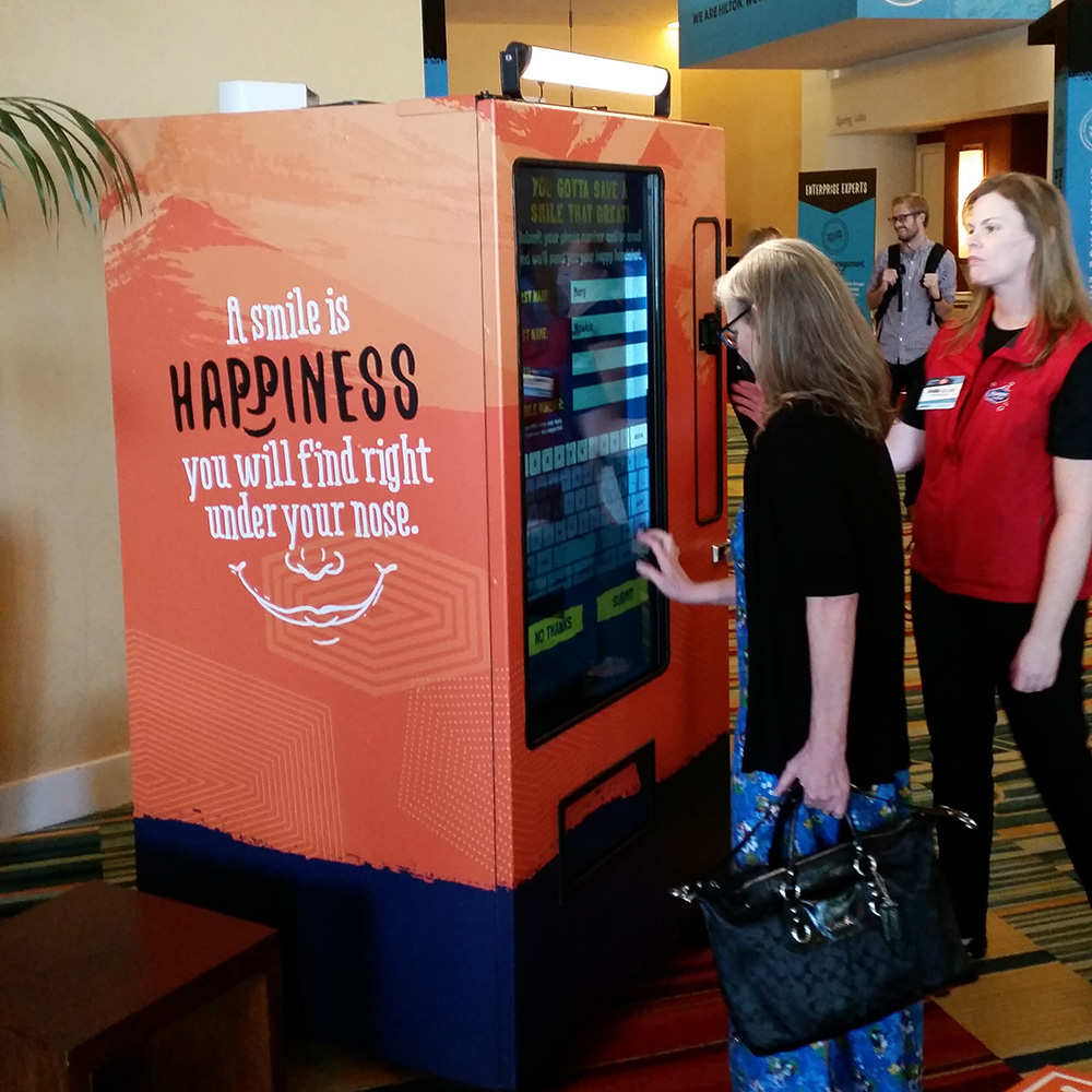 Experiential Vending Machine<strong>Hampton Inn</strong>