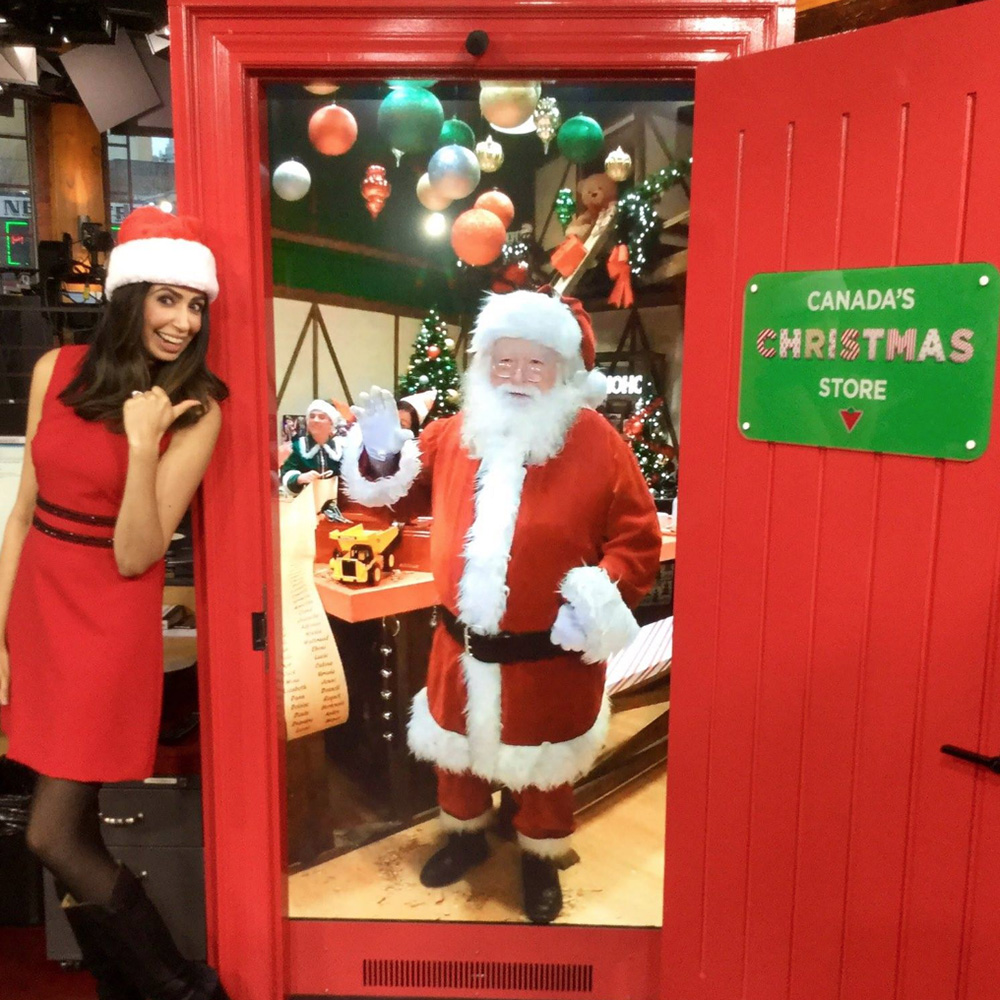 Interactive Live-Streaming Santa<strong>Canadian Tire</strong>