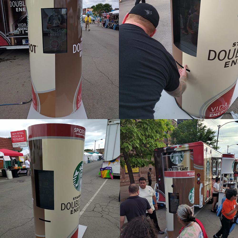 GIF Booth + Hashtag Printer<strong>Starbucks</strong>