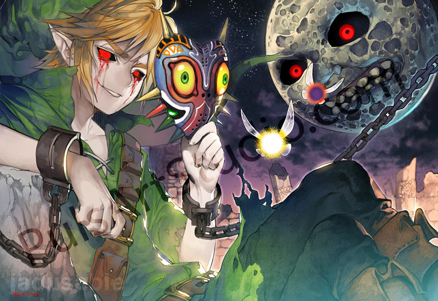 LoZ/Creepypasta: Majora's Mask (avail. as mat)