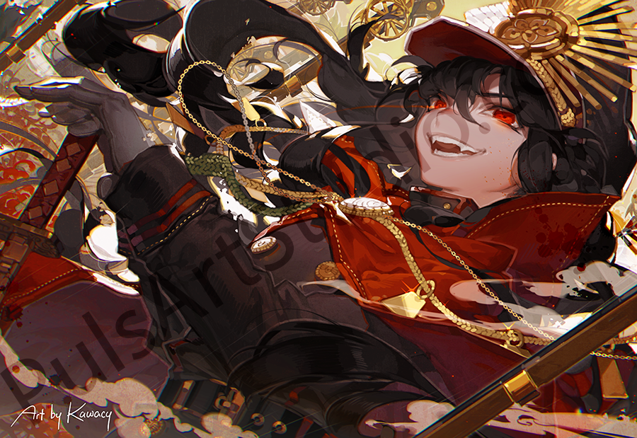 FGO: Oda Nobunaga (avail. as mat)