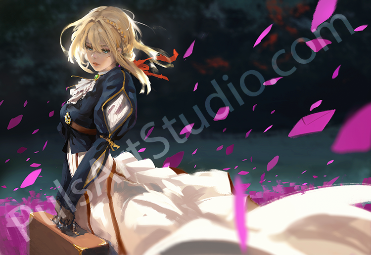 Violet Evergarden (avail. as mat)