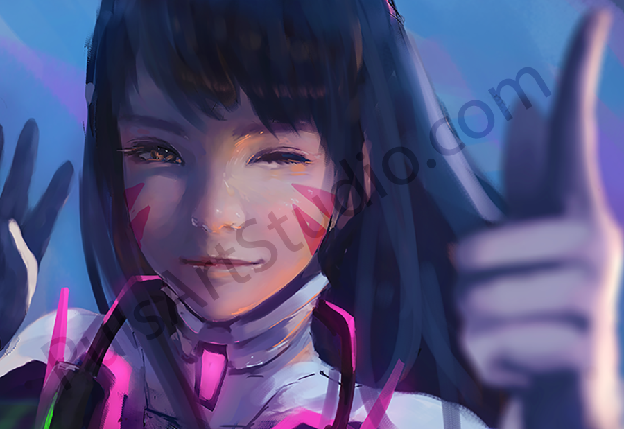 Overwatch: D.Va (avail. as mat)