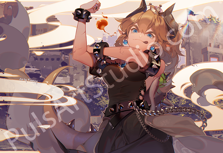 Bowsette (avail. as mat)