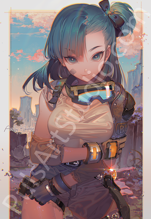 Bulma (avail. as mat)