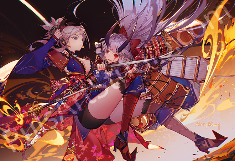 FGO: Musashi vs Inferno (avail. as mat)