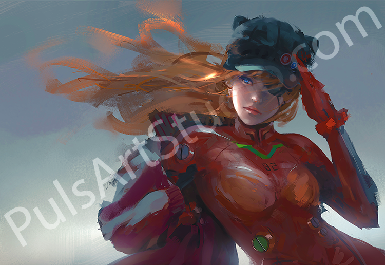 Evangelion: Asuka (avail. as mat)