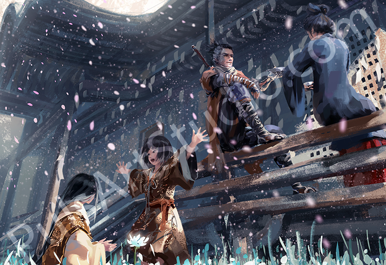 Sekiro: Shadows Die Twice (avail. as mat)