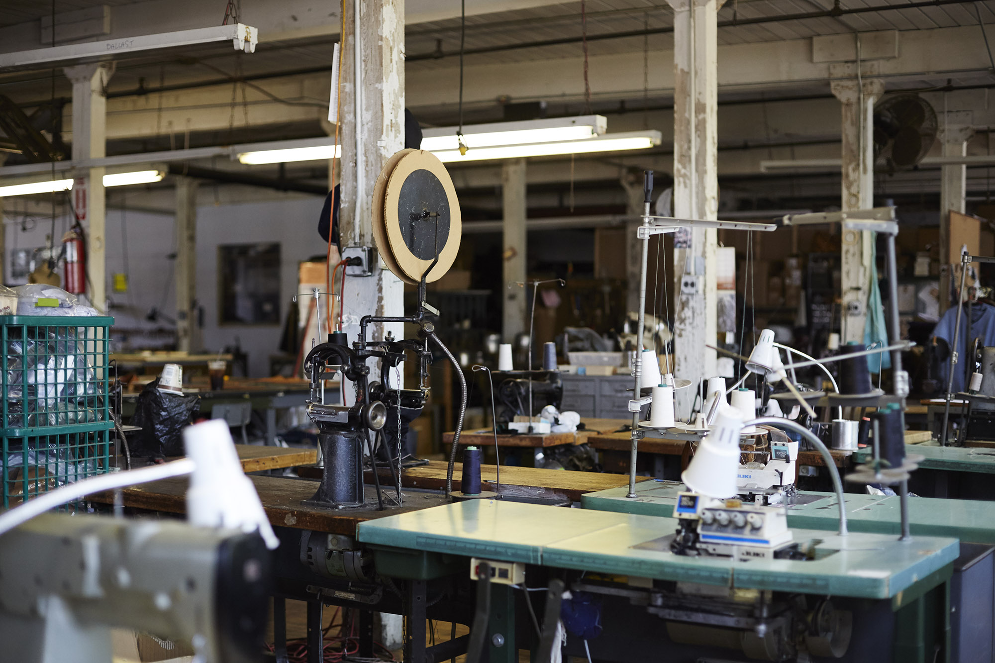 The collective work space at Knickerbocker Manufacturing Co.