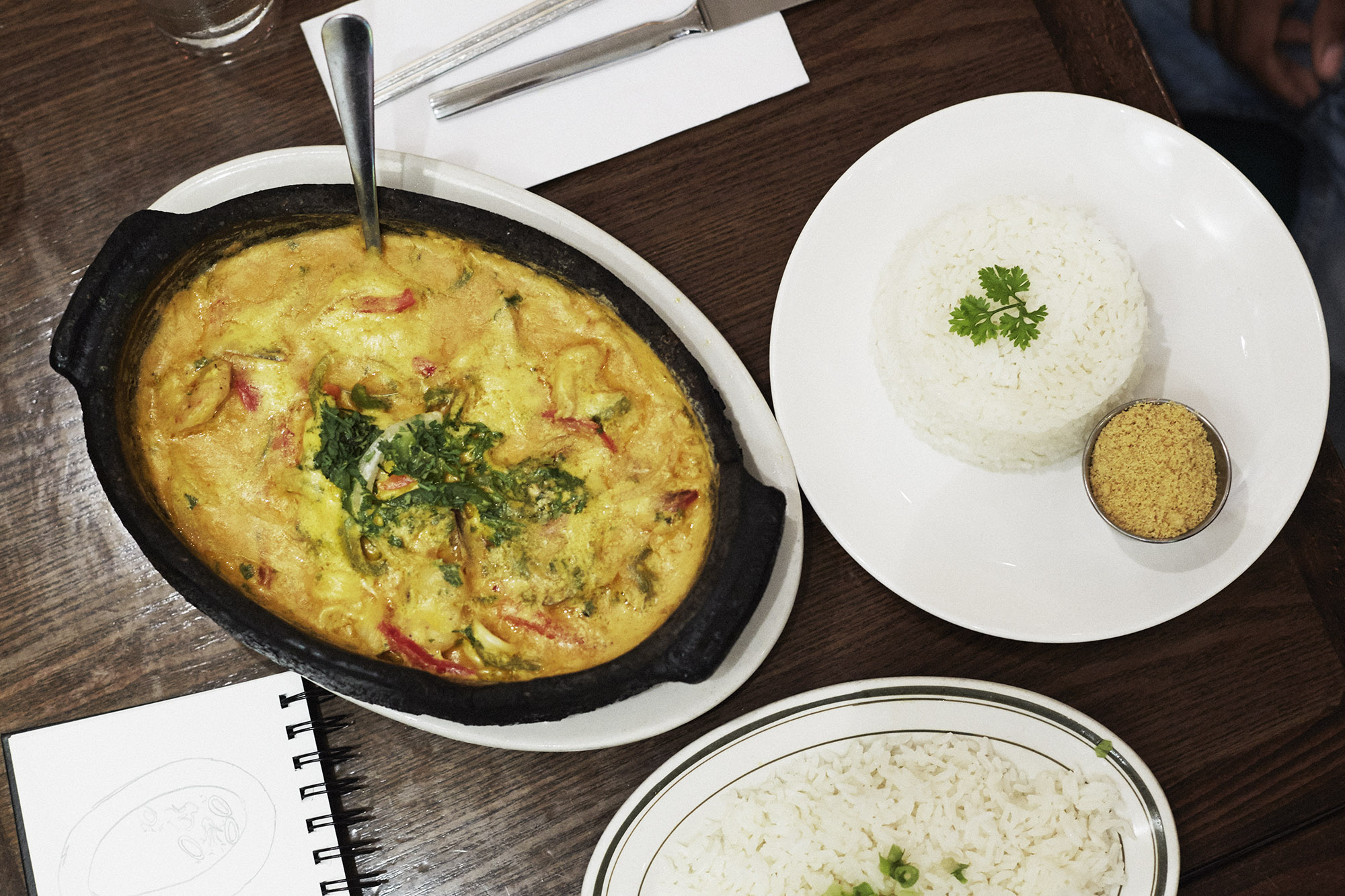 Moqueca, Berimbau de Brazil. West Village, NYC.